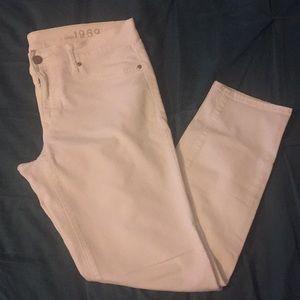 GAP White Legging Jean Size 29/8r